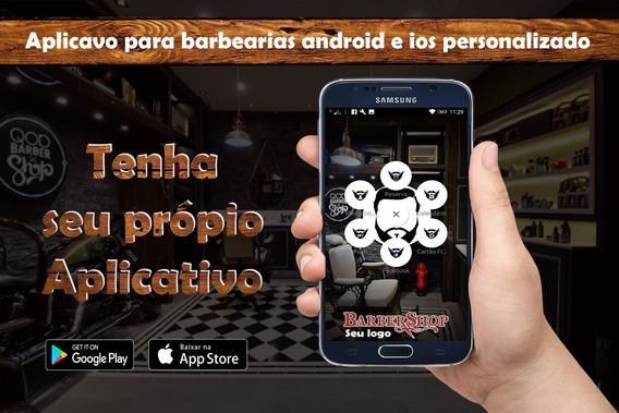 Aplicativo Barbearia,barbershop Android E Ios