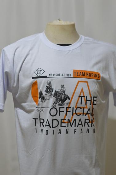Camiseta Gola Careca - Longhorn Team Rope Country Bruto