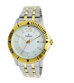 Relógio Champion Masculino Ca31462b Bicolor