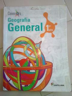 Geografía General 1er Año Santillana Conexos Usado