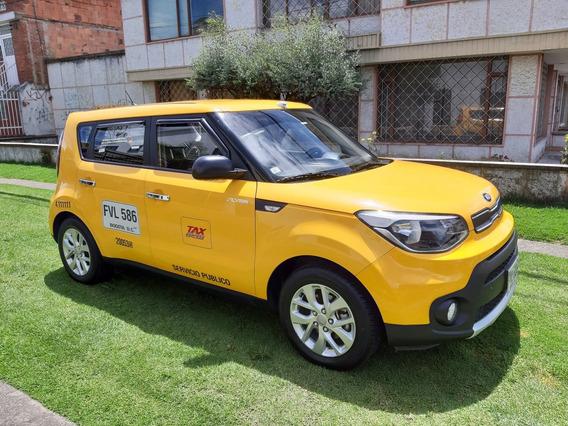 Kia Soul Eko Taxi