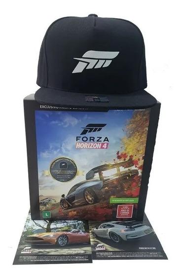 Forza Horizon 4 Ed Especial - Boné + 2 Carros Extras Novo Rj