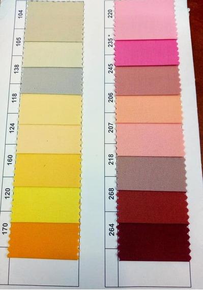 Ambo Completo Clasico Color Cuello V T 36-48