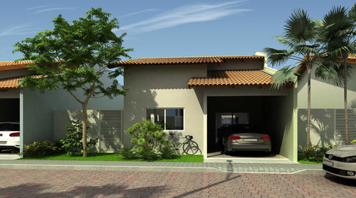 Casa De 3 Quartos Em Condomínio A 10 Min. Do Flamboaynt