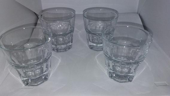 Set De 4 Vasos Para Cafe O Soda Pasabahce