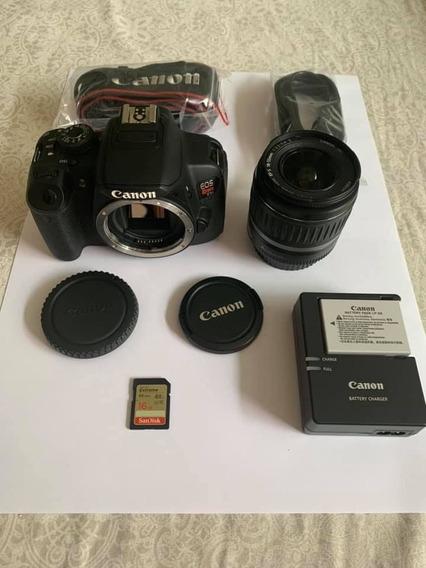 Câmera Canon Eos T5i + Lente 18-55 Somente 23mil Clicks.
