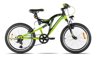 Bicicleta Mountain Bike Aurora Dsx Doble Susp R20 Cuotas