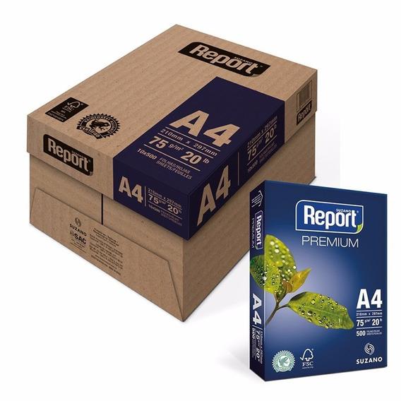 Report Papel Sulfite Premium A4 75g - 01 Resma C/500fls