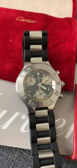 Reloj Cartier Chronoscaph Siglo 21