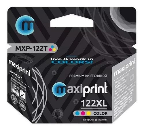 Cartucho Compatible Hp 122 Xl Color Con Garantía Hp 122