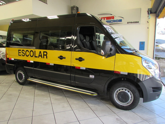 Renault Master Escolar 20 Lugares À Pronta Entrega