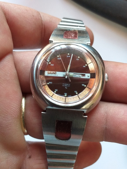 Relogio Antigo Seiko Diamatic Hi Beat Raro Calendario Lindo