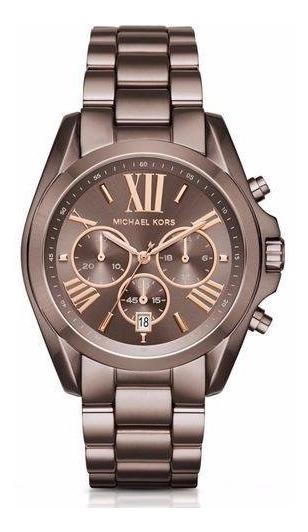 Relógio Michael Kors Feminino Mk6247 - Bronze Chocolate