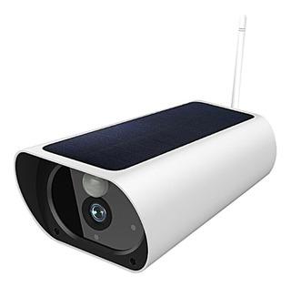 Q1 Solar Ip Cámara Exterior Ip67 Visión Nocturna Monitor Int