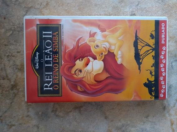 Fita Vhs Rei Leão 2 Original