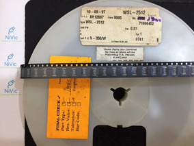 Wsl-2512 0,01r 1w 1% Resistor (emb. C/ 5 Peças)