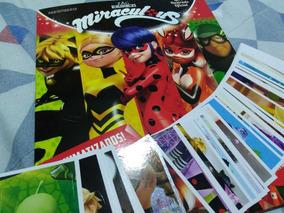 Álbum Miraculous 2 (lady Bug )+ 80 Figurinhas Sem Repetições
