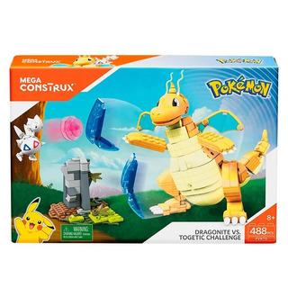 Dragonite Vs Togetic Mega Construx Pokemon - Mattel Fvk75