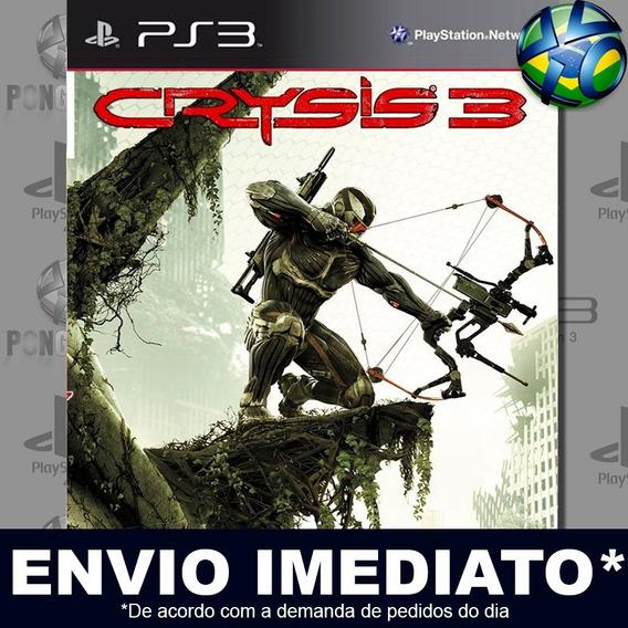 Crysis 3 Ps3 Psn Jogo Em Promoção A Pronta Entrega