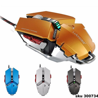 Mouse Gamer 10 Botones Profesional Mecánico 4000dp G50 W01