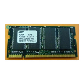 2 Memoria Sansung Pc2100s Ddr 256mb Notebook