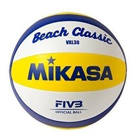 Bola De Vôlei De Praia Vxl30 Padrão Fivb Mikasa