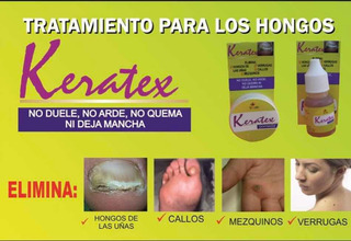 Keratex Elimina Verrugas Y Hongos En Uñas Sin Dolor