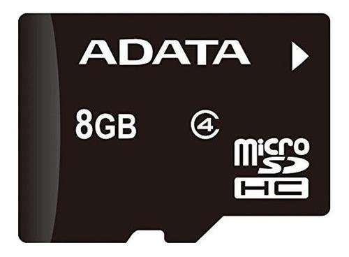 Cartão de memória Adata AUSDH8GCL4-RA1 com adaptador SD 8GB