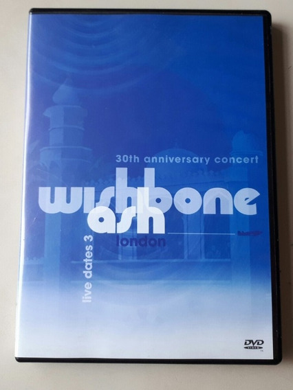 Dvd Wishbone Ash - Live Dates 3 - Original - Raro