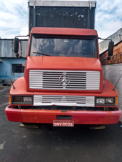 Mb 1218 1990 Truck Baú Sider