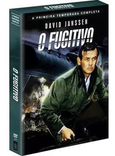 Box Dvd O Fugitivo - 1° Temp. Completa - 8 Discos Orig. Novo