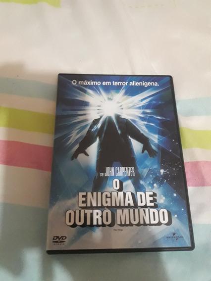 Dvd O Enigma De Outro Mundo - John Carpenter . Kurt Russell