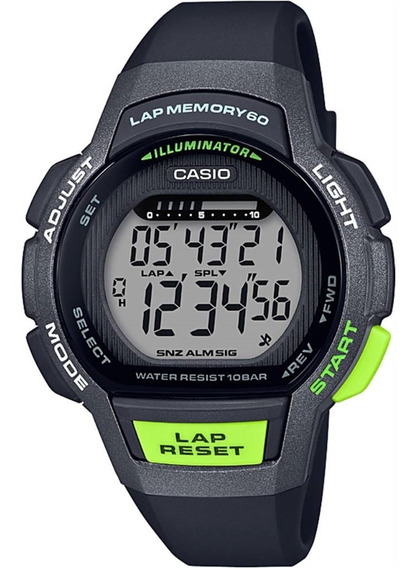 Relógio Feminino Casio Digital Lws-1000h-1avdf - Preto