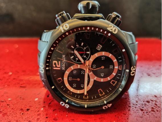 Relógio Masculino Magnum Ma 33755 Grande.