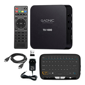 Tv Box Android Convertidor Smart Tv Mini Tv Combo Teclado