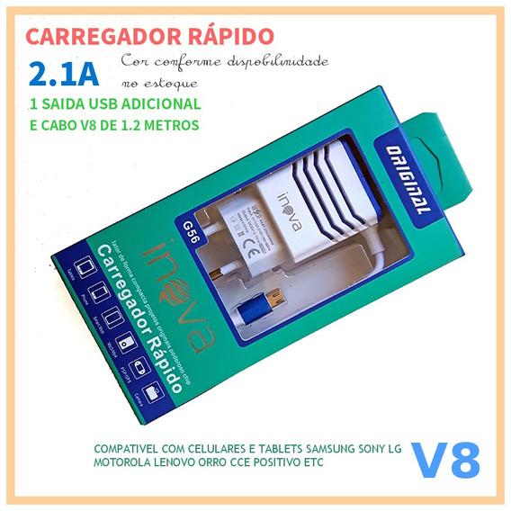 Cpad - Kit C/ 10 Carregador 2a G56 Universal Micro Usb
