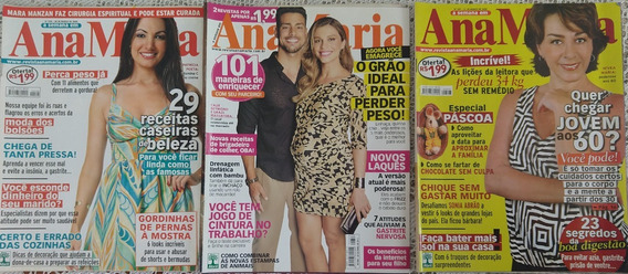 Lote Revistas Ana Maria/tv Brasil/viva Mais - 10 Edições