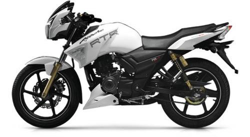 Moto Tvs Apache Rtr 180 17 Hp Caja 5 Velocidades