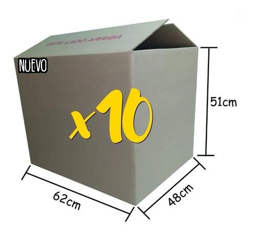 Pack X 10 Caja 62x48x51 Envios Nacionales