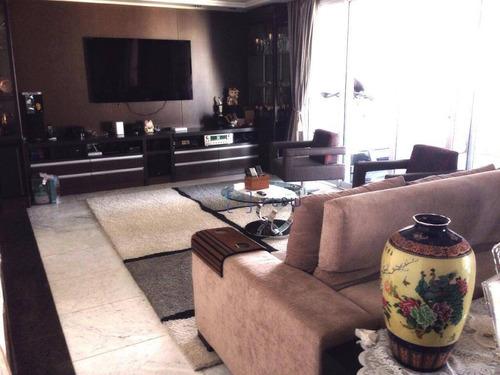 Apartamento Com 4 Dormitórios À Venda, 245 M² Por R$ 2.970.000,00 - Vila Mariana - São Paulo/sp - Ap8749