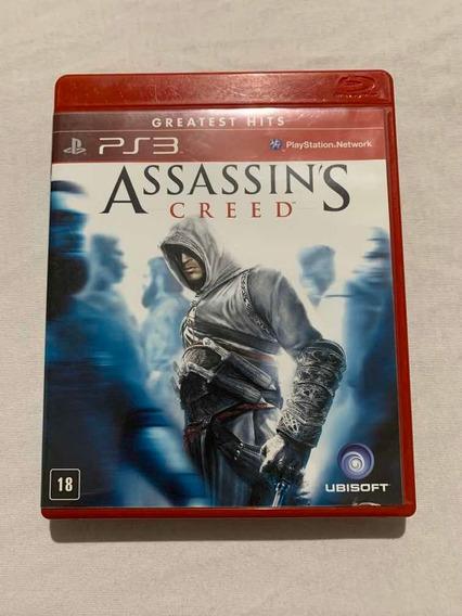 Assassins Creed Playstation 3 Jogo Original Ps3 Mídia Fisica