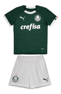 Kit Infantil Criança Palmeiras Puma 2019 Pronta Entrega