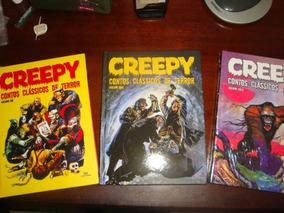 Lote Creepy Devir Vol 1, 2 E 3 Capa Dura! Novos Frete Grátis
