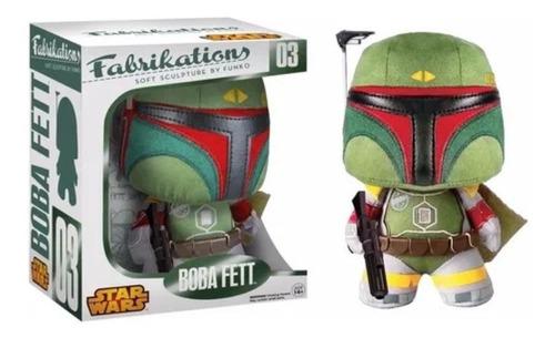 Pelúcia Funko Fabrikation Star Wars Boba Fett 16cms