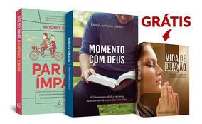 Kit 3 Livros Evangélicos (1 Grátis) - Pastor Antonio Junior