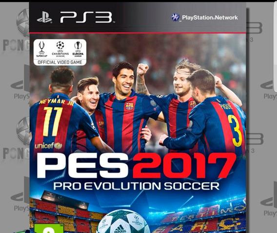 Ps3 Pro Evolution Soccer 2017 Codigo Psn Envio Imediato