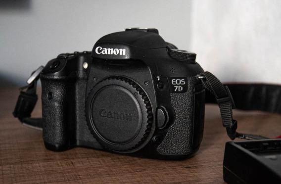 Camera Canon 7d Somente Corpo