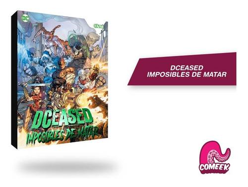 Imagen 1 de 2 de Comic Dceased Imposibles De Matar Virus Zombie Dc Comics
