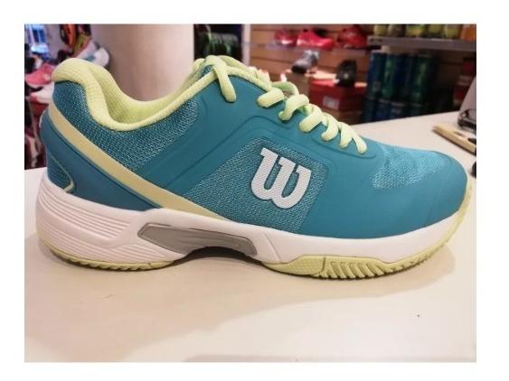 Zapatillas De Tenis Wilson Set Dama Mujer 2019 Hollywoods
