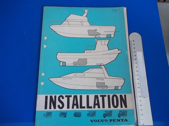 Book Installation Volvo Penta Marine Engines Tamd60 Md 70